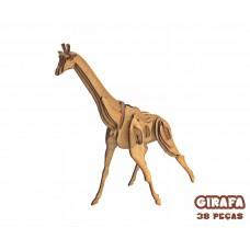 Quebra-cabeça 3D Girafa