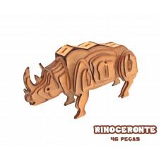 Quebra-cabeça 3D Rinoceronte