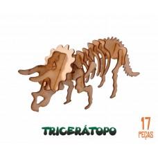 Quebra-cabeça 3D Tricerátopo