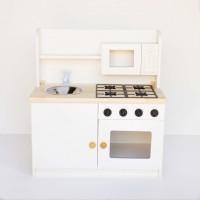Mini Cozinha Maria Eduarda (MDF Branco)