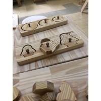 Peças de Encaixes Montessori